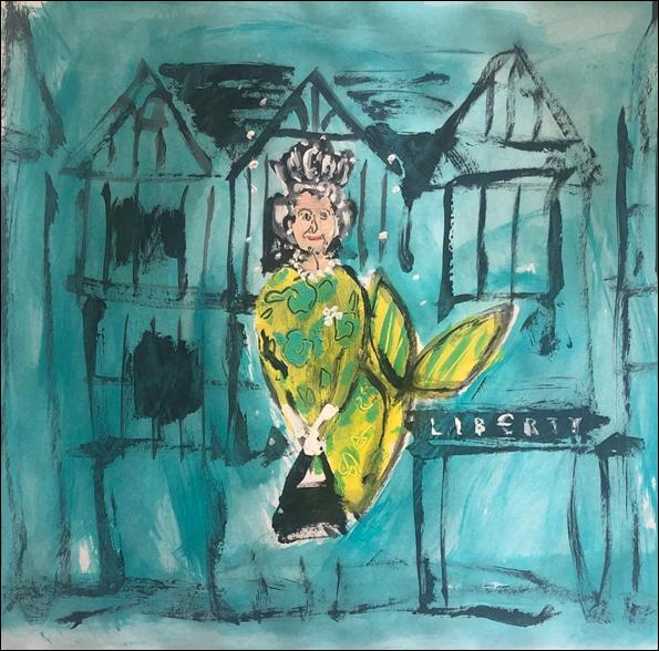 Donald Robertson - queen mermaid