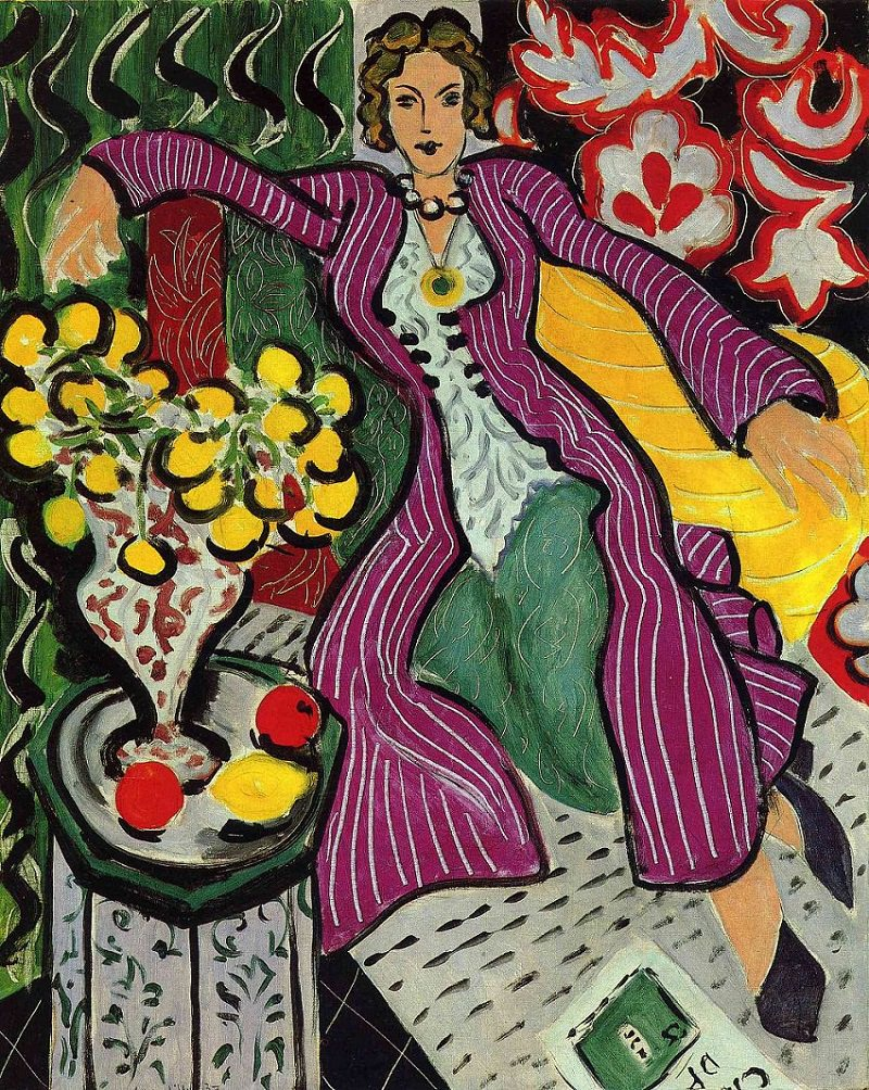 Matisse, Woman in a Purple Coat, 1937