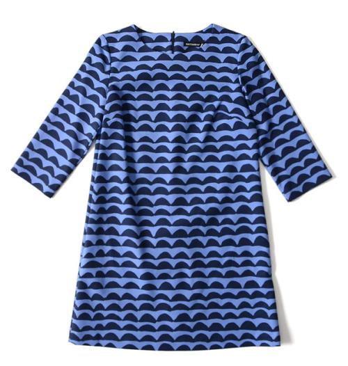 Marimekko Papajo print dress