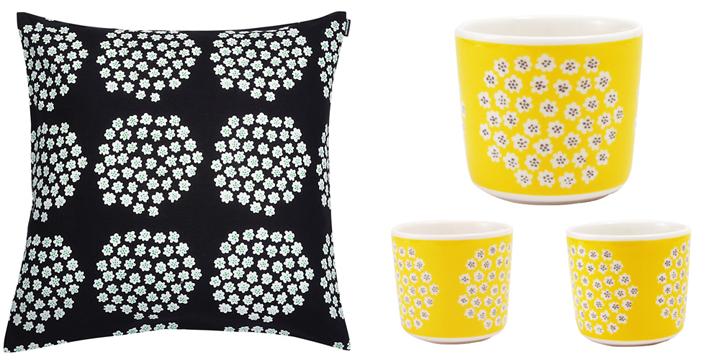 Marimekko Puketti print accessories