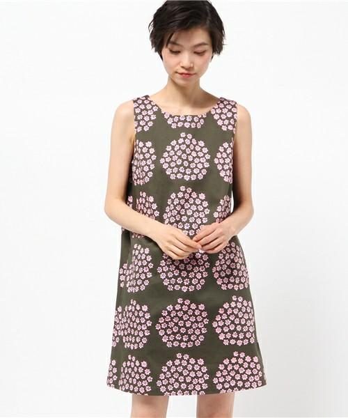 Marimekko Puketti print dress