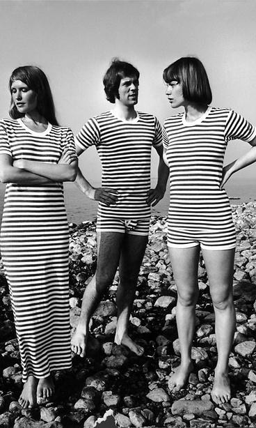 Marimekko Tasaraita pattern, ca. 1969