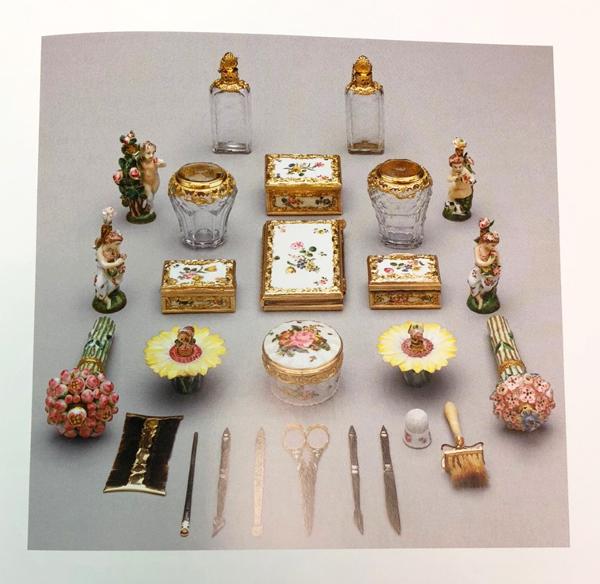 Cosmetics set, c. 1755