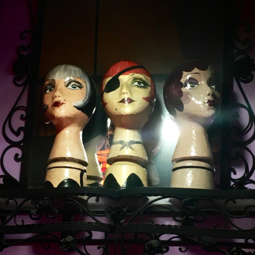 Anna Sui dolly heads