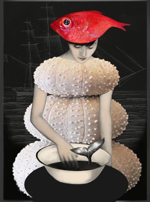 Daria Petrilli - fish-hat