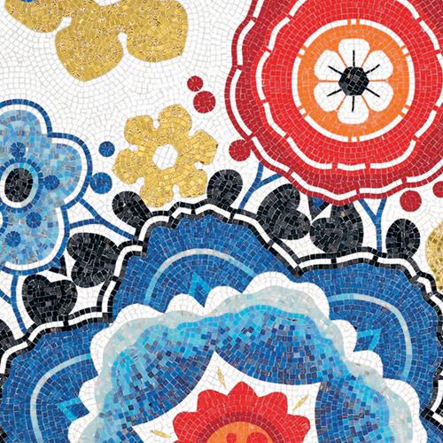 Marcel Wanders for Bisazza mosaic - Bloem
