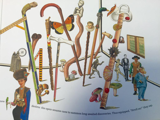 Hermes 2015 exhibition book illustrated by Emmanuel Pierre