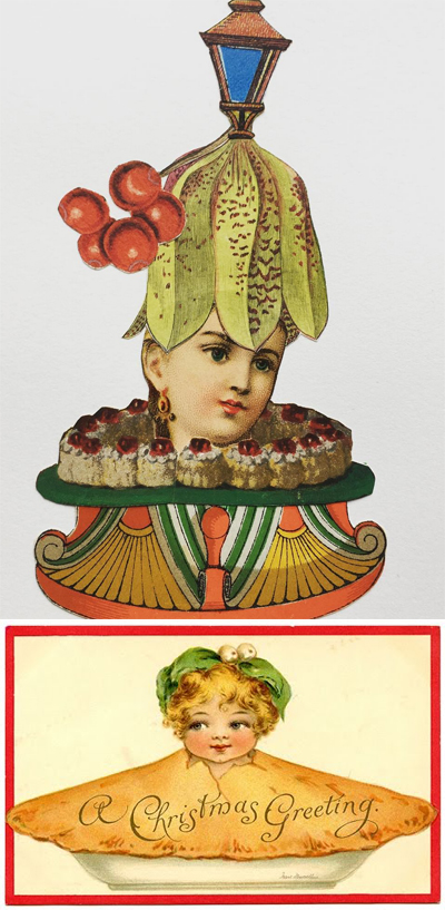 Emmanuel Pierre/19th century greeting card