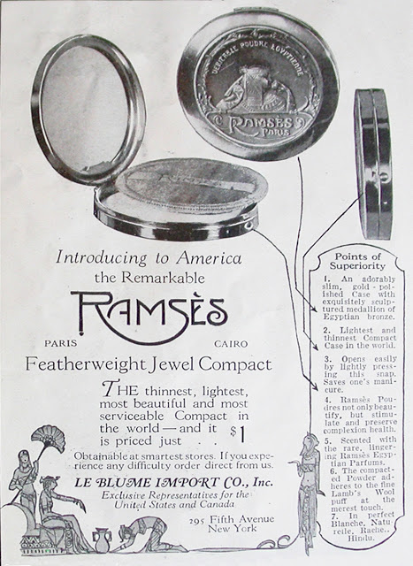 Ramses ad, Vogue, August 1923