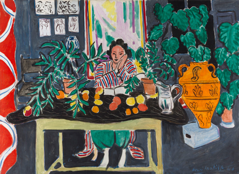 Henri Matisse, Interior with Etruscan Vase, 1940