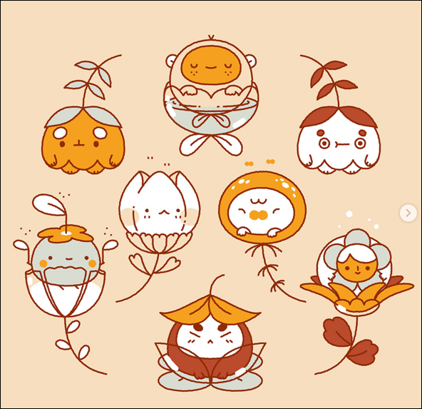 Mochichito - flower kids