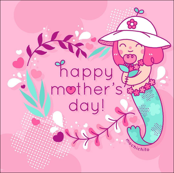 Mochichito - Mother's Day mermaid