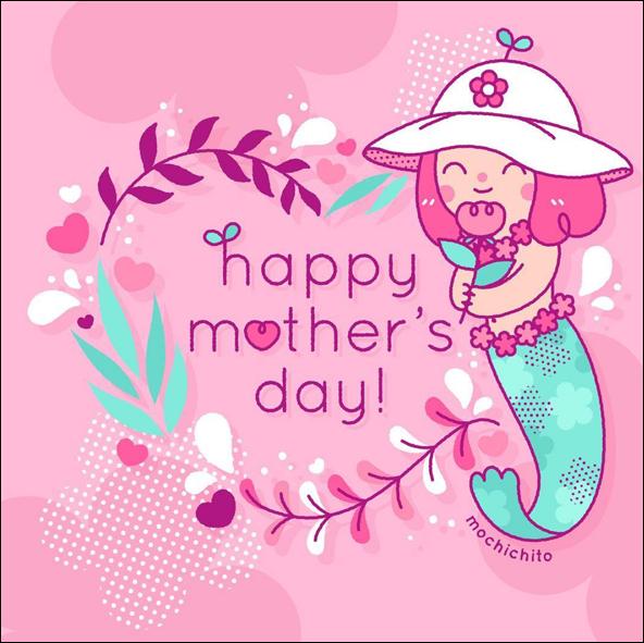 Mochichito - Mother's Day mermaid