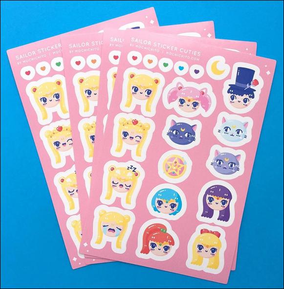 Mochichito stickers