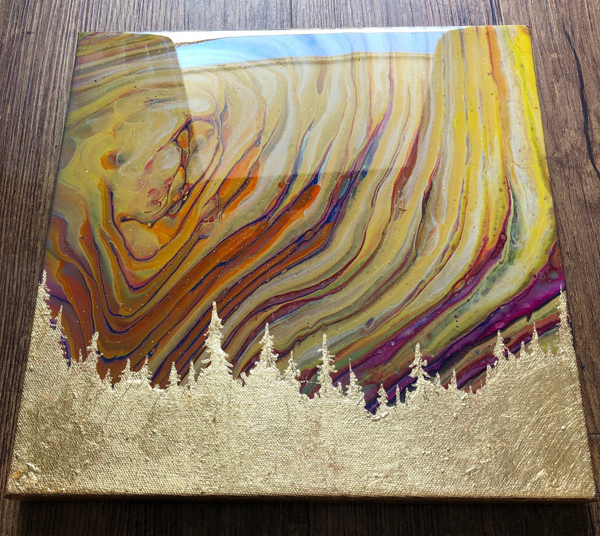 Kathryn Beals, Gold and Sunrise