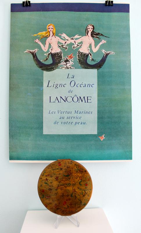 Lancome skincare ad, 1956