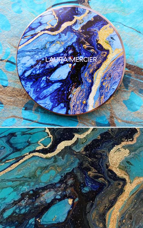 Laura Mercier Mediterranean Escape bronzer/work by Kathryn Beals