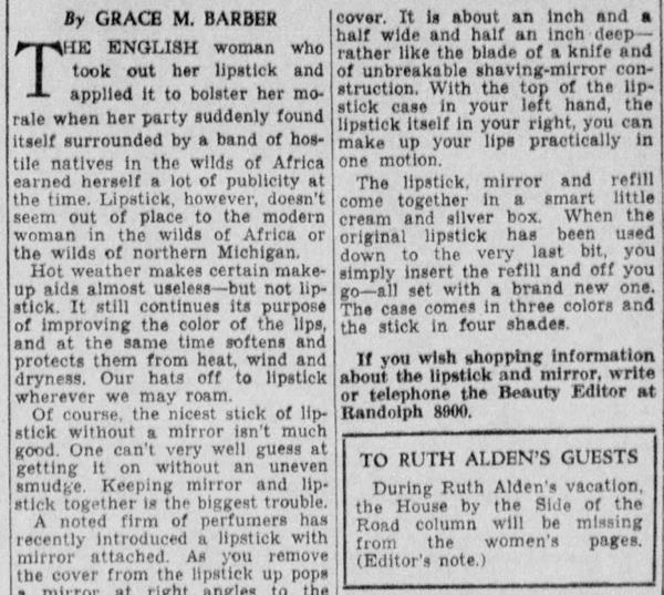Detroit Free Press, Aug 13, 1935