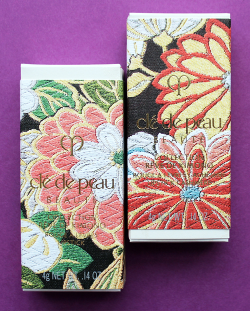 Clé de Peau Kimono Dream lipstick packaging