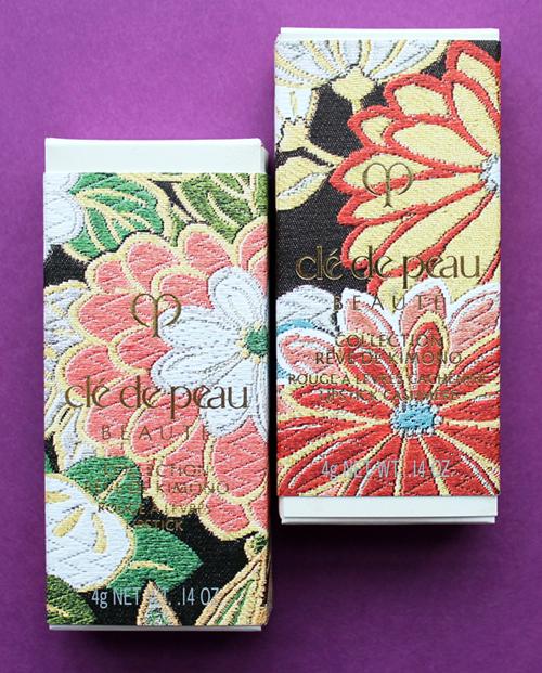 Clé de Peau Kimono Dream lipstick packaging