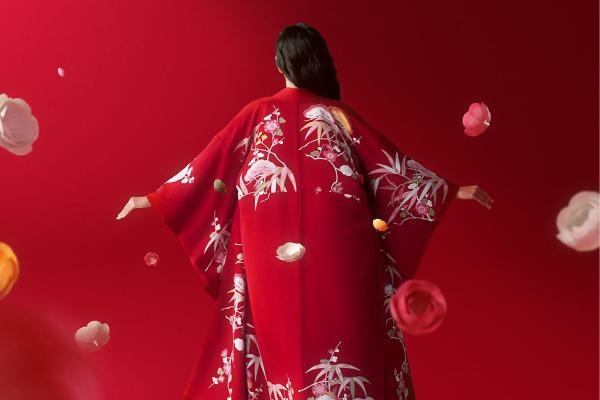 Clé de Peau kimono by Tachibana