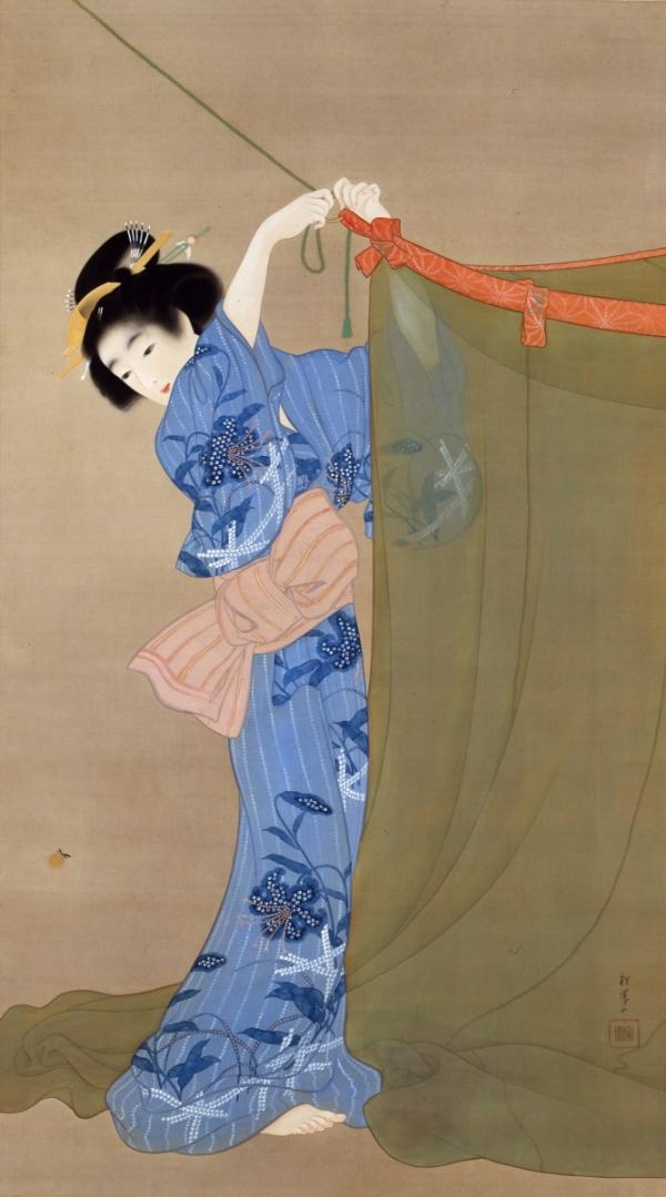 Uemura Shoen, Firefly, 1913