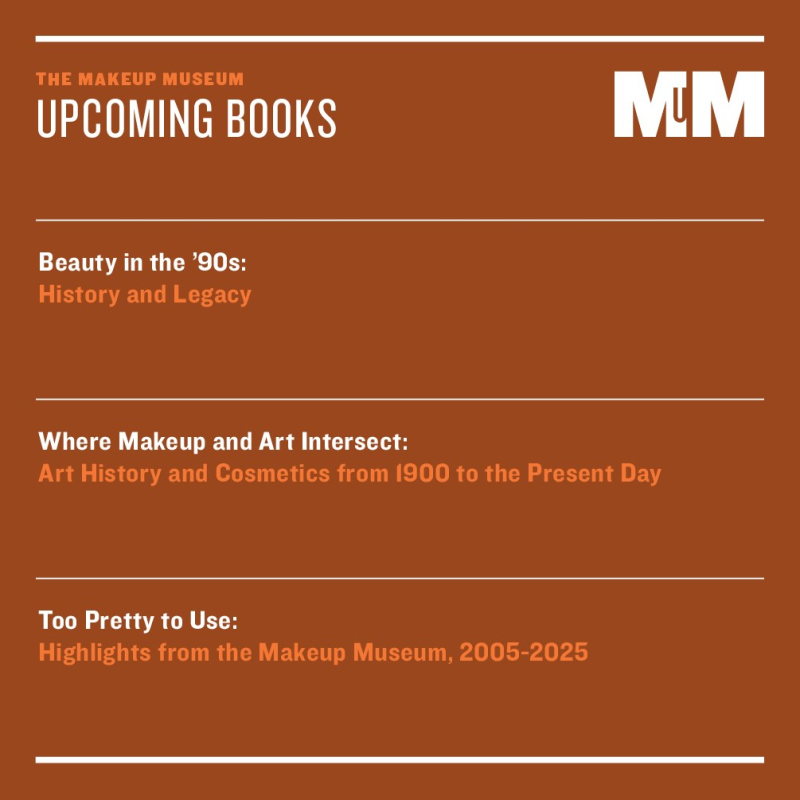 Makeup Museum upcoming book list