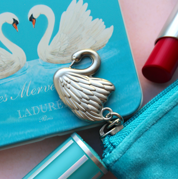 LM Ladurée holiday 2019 makeup pouch