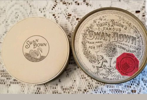 Vintage Tetlow Swan Down powder