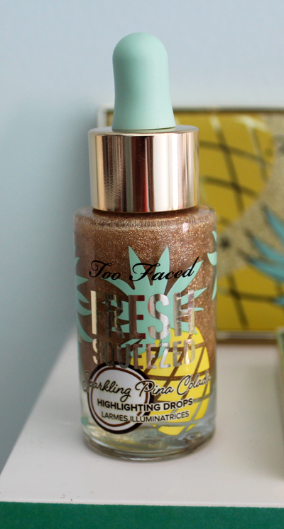 Too-Faced pineapple highlighting drops