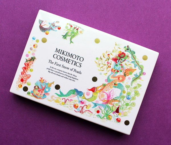 Mikimoto holiday 2019 face palette