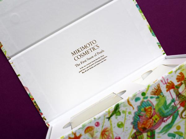 Mikimoto holiday 2019 skincare set box
