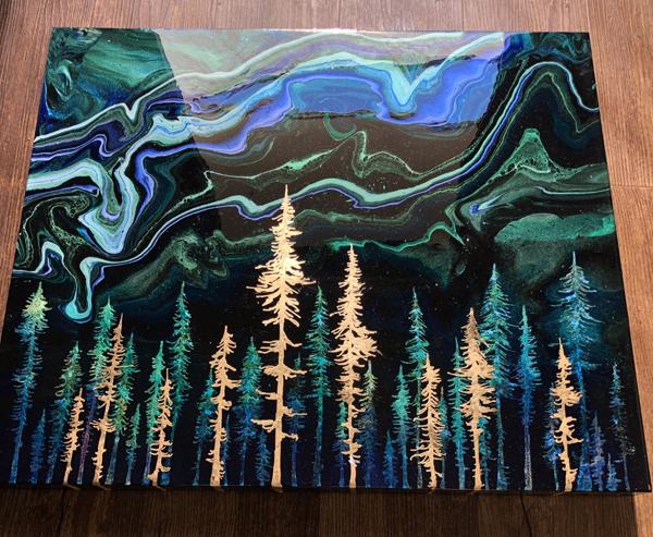 Kathryn Beals, Gold Aurora Borealis