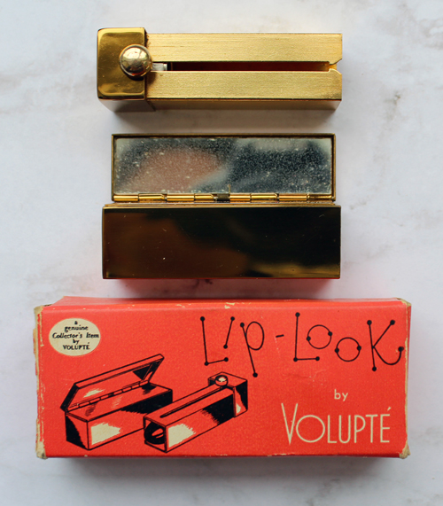 Vintage Volupté Lip Look lipstick mirror