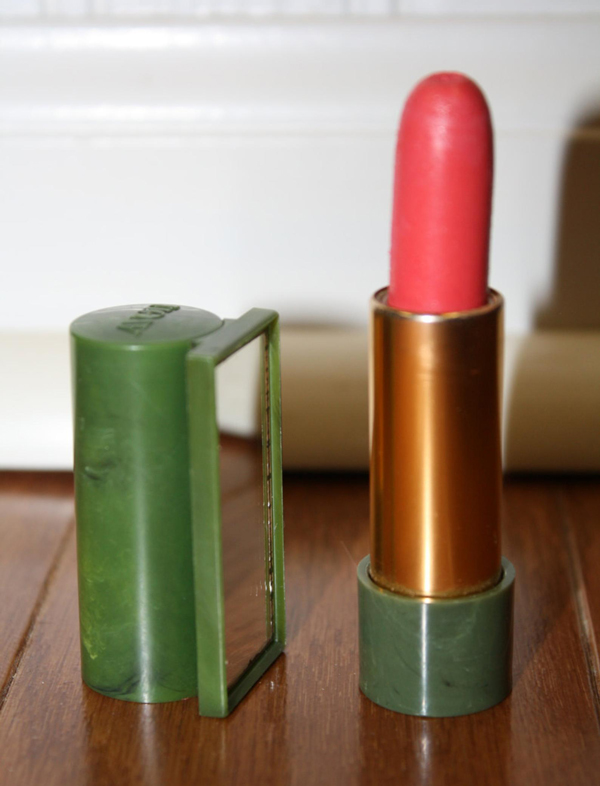 Vintage Avon mirrored lipstick tube
