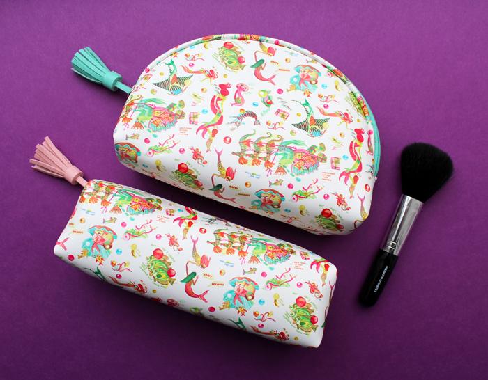 Mikimoto holiday 2019 makeup bags