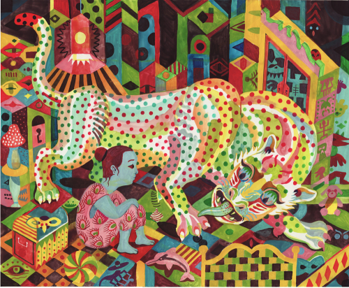 Brecht Evens - cover image for Panther