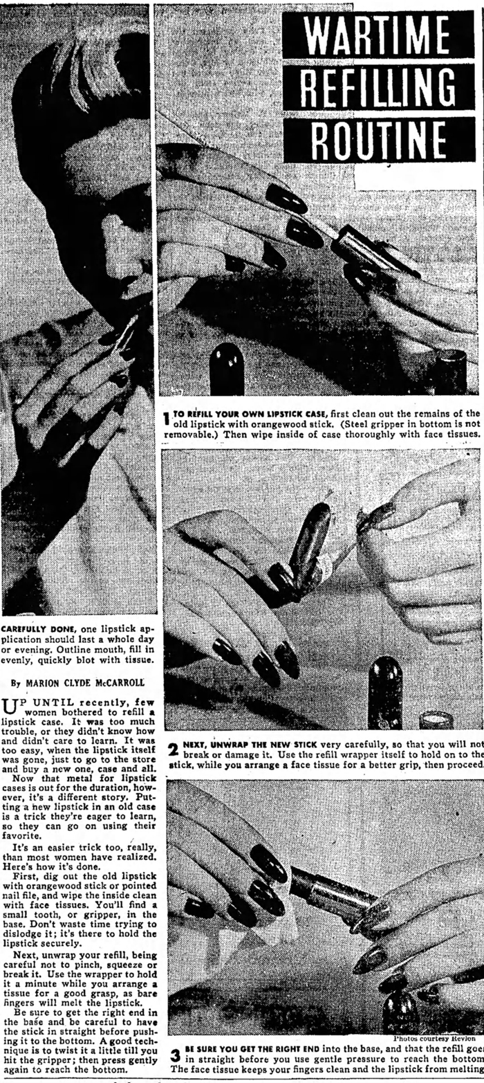 Lipstick refill-instructions-Wed__Mar_31__1943_
