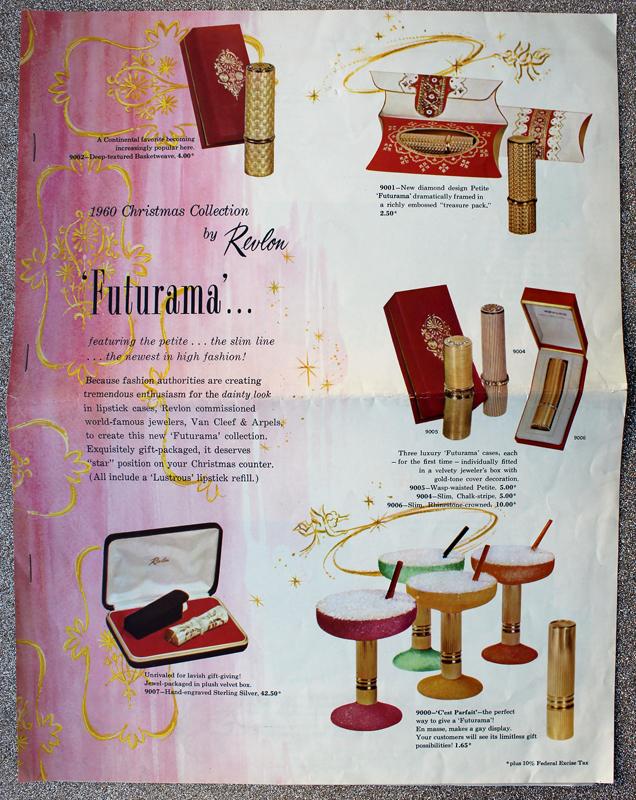 Revlon Futurama ad, 1960