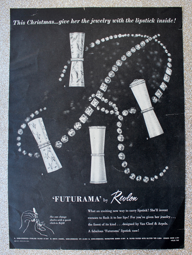 Revlon Futurama ad, 1957