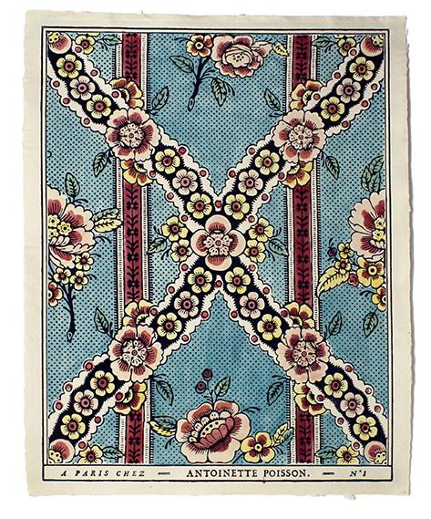 Antoinette Poisson domino paper