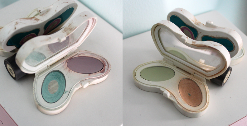 Vintage Avon butterfly palette