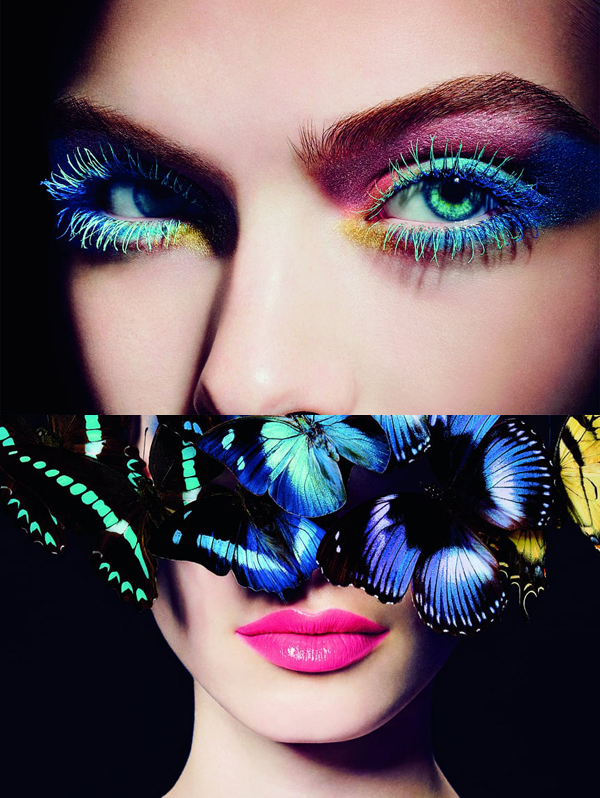 L'été Papillon de Chanel, summer 2013 - makeup by Peter Philips