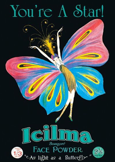 Icilma advertising postcard, 1920s
