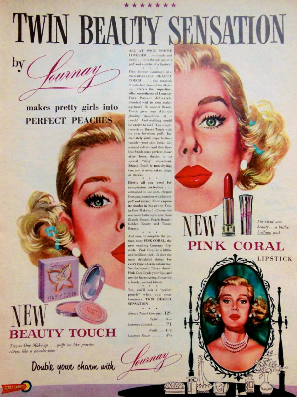 Lournay ad, 1955