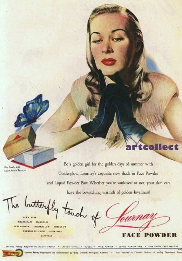 Lournay ad, 1950