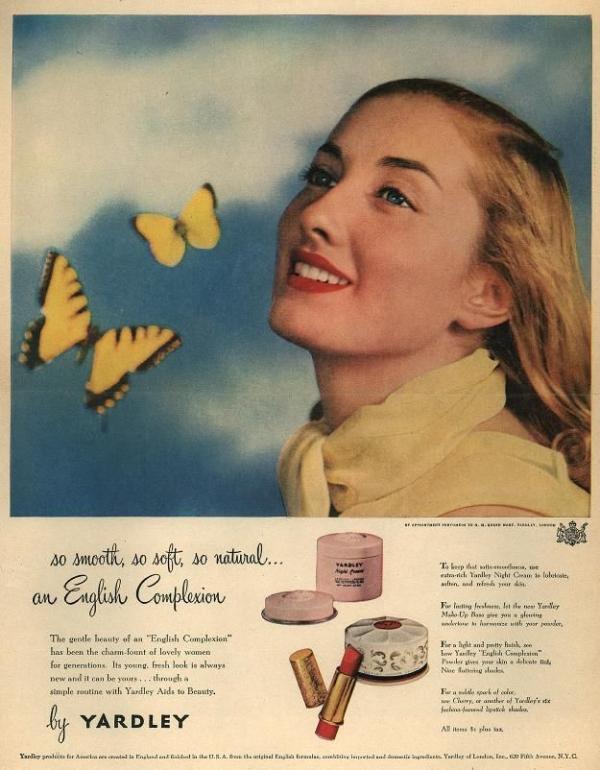 Yardley ad, 1948