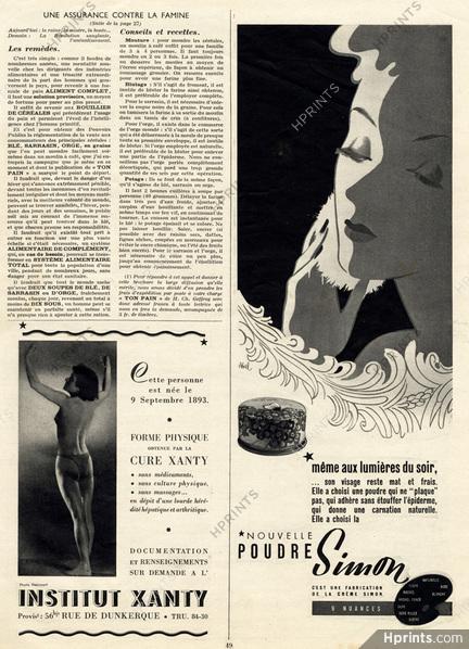 Poudre Simon ad, 1941