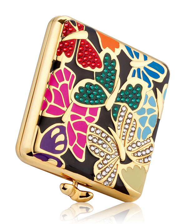Butterfly Dance compact by Monica Rich Kosann for Estée Lauder