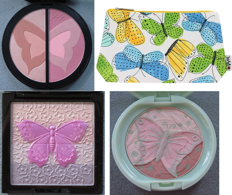 Spring butterfly makeup, collection of the Makeup Museum